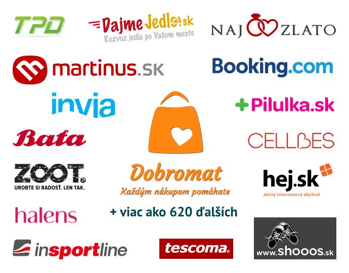 42c8626e2 Spolupráca Dobromatu s internetovými obchodmi | Dobromat - Každým nákupom  pomáhate